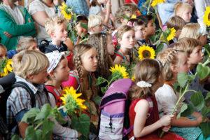 Freie Waldorfschule Leipzig, Schuleingangsfeier 2016