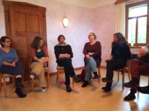 Gruppensitzung Campus Mitte-Ost, Ausbildung Waldorfpädagogik