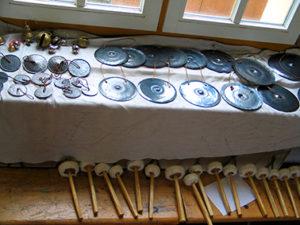 Klangraum-Instrumente, Gongs von Knut Rennert