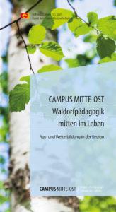 Cover Flyer Waldorfpädagogik